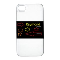 Raymond Tv Apple iPhone 4/4S Hardshell Case with Stand