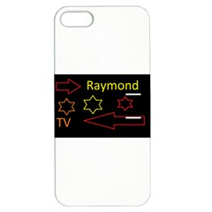 Raymond Tv Apple iPhone 5 Hardshell Case with Stand