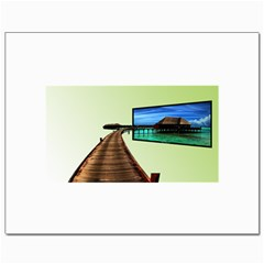 Virtual Tv 8  x 10  Unframed Canvas Print