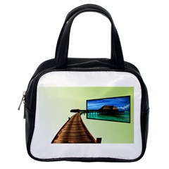 Virtual Tv Single-sided Satchel Handbag