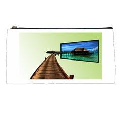 Virtual Tv Pencil Case