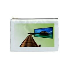 Virtual Tv Cosmetic Bag (Medium)