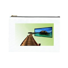 Virtual Tv Cosmetic Bag (Large)