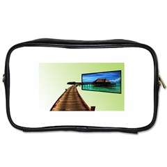 Virtual Tv Twin-sided Personal Care Bag