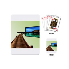 Virtual Tv Playing Cards (Mini)