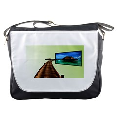Virtual Tv Messenger Bag