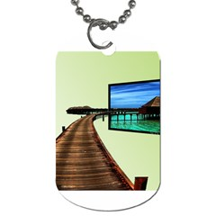 Sony Tv Twin-sided Dog Tag