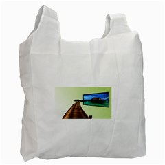 Sony Tv Single-sided Reusable Shopping Bag
