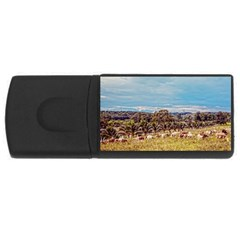Farm View 1Gb USB Flash Drive (Rectangle)