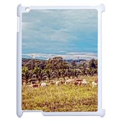 Farm View Apple Ipad 2 Case (white)