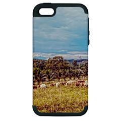 Farm View Apple iPhone 5 Hardshell Case (PC+Silicone)