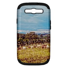 Farm View Samsung Galaxy S Iii Hardshell Case (pc+silicone)