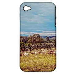 Farm View Apple iPhone 4/4S Hardshell Case (PC+Silicone)