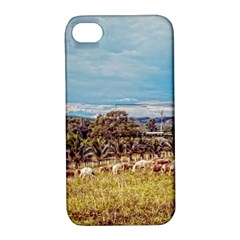Farm View Apple Iphone 4/4s Hardshell Case With Stand