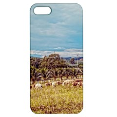 Farm View Apple iPhone 5 Hardshell Case with Stand