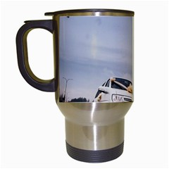 Wedding Car White Travel Mug