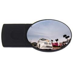Wedding Car 4gb Usb Flash Drive (oval)