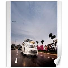 Wedding Car 20  x 24  Unframed Canvas Print