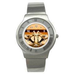 23 Stainless Steel Watch (Round)