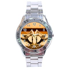 23 Stainless Steel Analogue Watch (Round)