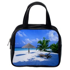 Beach Single Sided Satchel Handbag