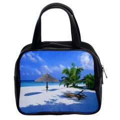 Beach Twin Sided Satchel Handbag