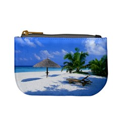 Beach Coin Change Purse