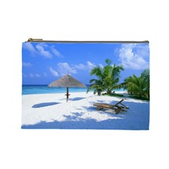 Beach Cosmetic Bag (Large)