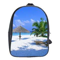 Beach Large School Backpack