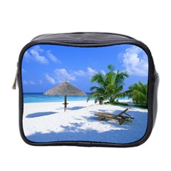 Beach Twin Sided Cosmetic Case