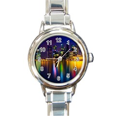 Night View Classic Elegant Ladies Watch (round)