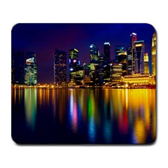 Night View Large Mouse Pad (Rectangle)