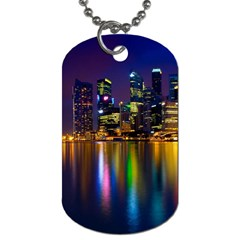 Night View Twin-sided Dog Tag