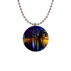 Night View Mini Button Necklace