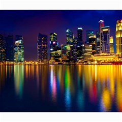 Night View 16  X 16  Unframed Canvas Print