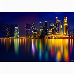 Night View 16  x 20  Unframed Canvas Print