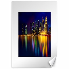Night View 20  x 30  Unframed Canvas Print