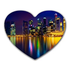 Night View Mouse Pad (Heart)