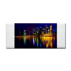 Night View Hand Towel