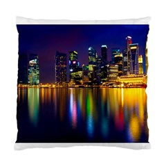 Night View Twin Sided Cushion Case