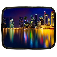 Night View 13  Netbook Case
