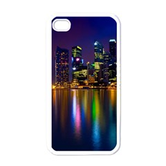 Night View White Apple iPhone 4 Case
