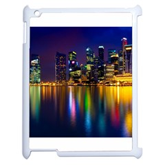 Night View Apple Ipad 2 Case (white)