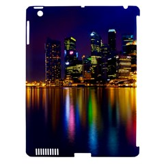 Night View Apple Ipad 3/4 Hardshell Case (compatible With Smart Cover)