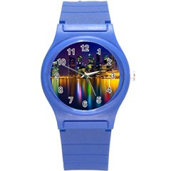 Night View Round Plastic Sport Watch Small
