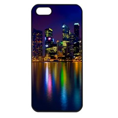 Night View Apple iPhone 5 Seamless Case (Black)
