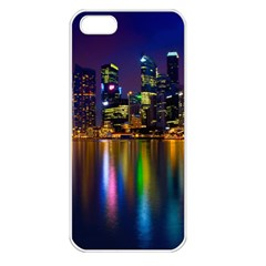 Night View Apple Iphone 5 Seamless Case (white)