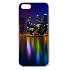 Night View Apple Seamless Iphone 5 Case (clear)