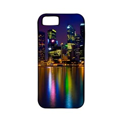 Night View Apple Iphone 5 Classic Hardshell Case (pc+silicone)