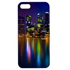 Night View Apple Iphone 5 Hardshell Case With Stand